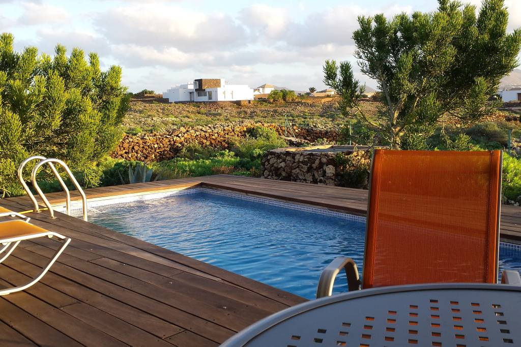 Modern villa in Lajares
