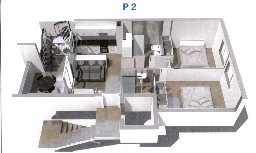 Brand New Building In Corralejo – Top Floor Apartment