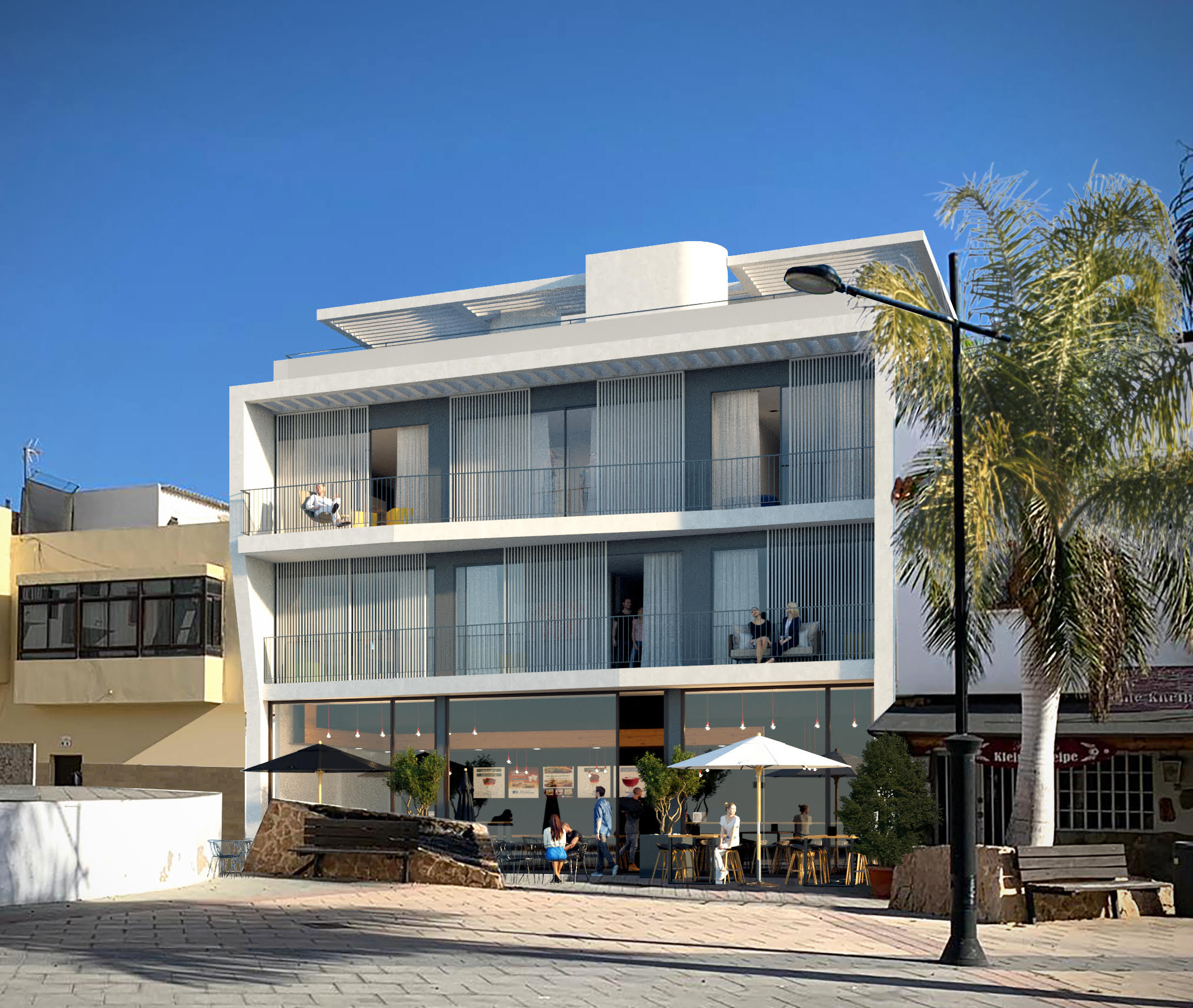 Alice Building – Brand new Project