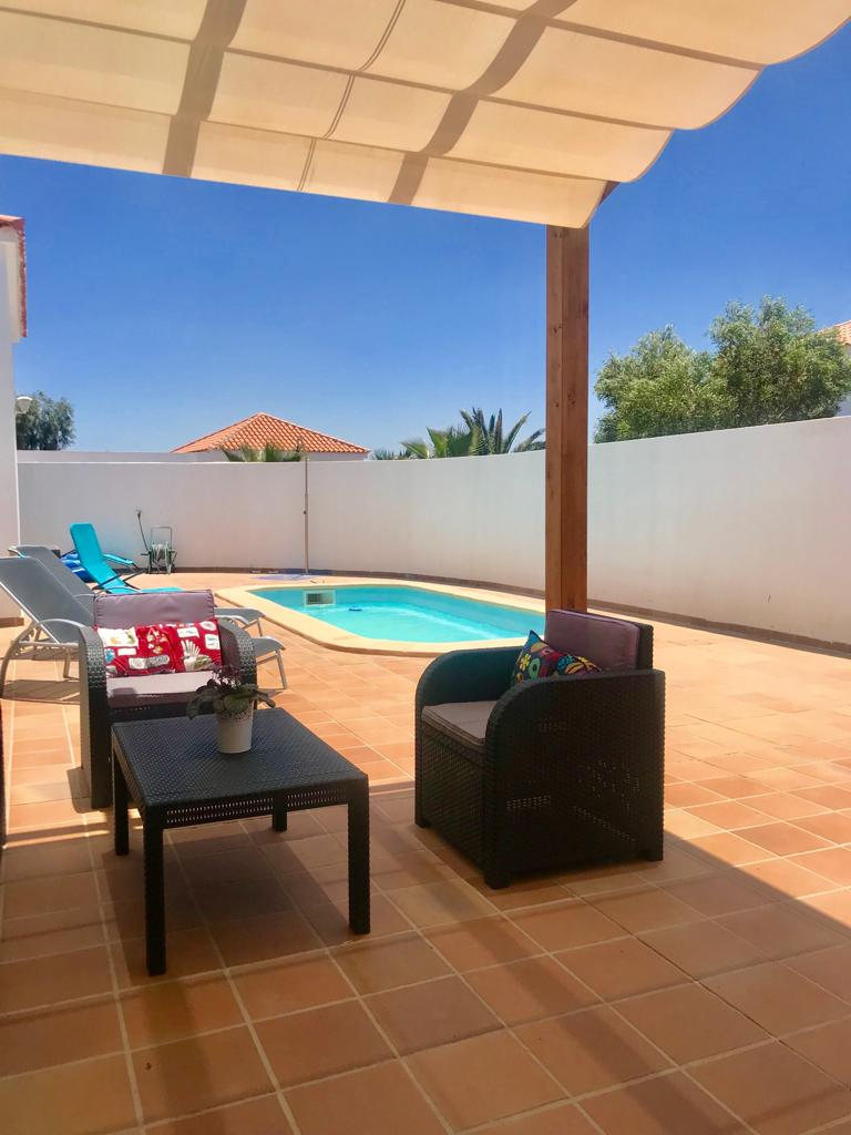 Modern villa for sale in Lajares