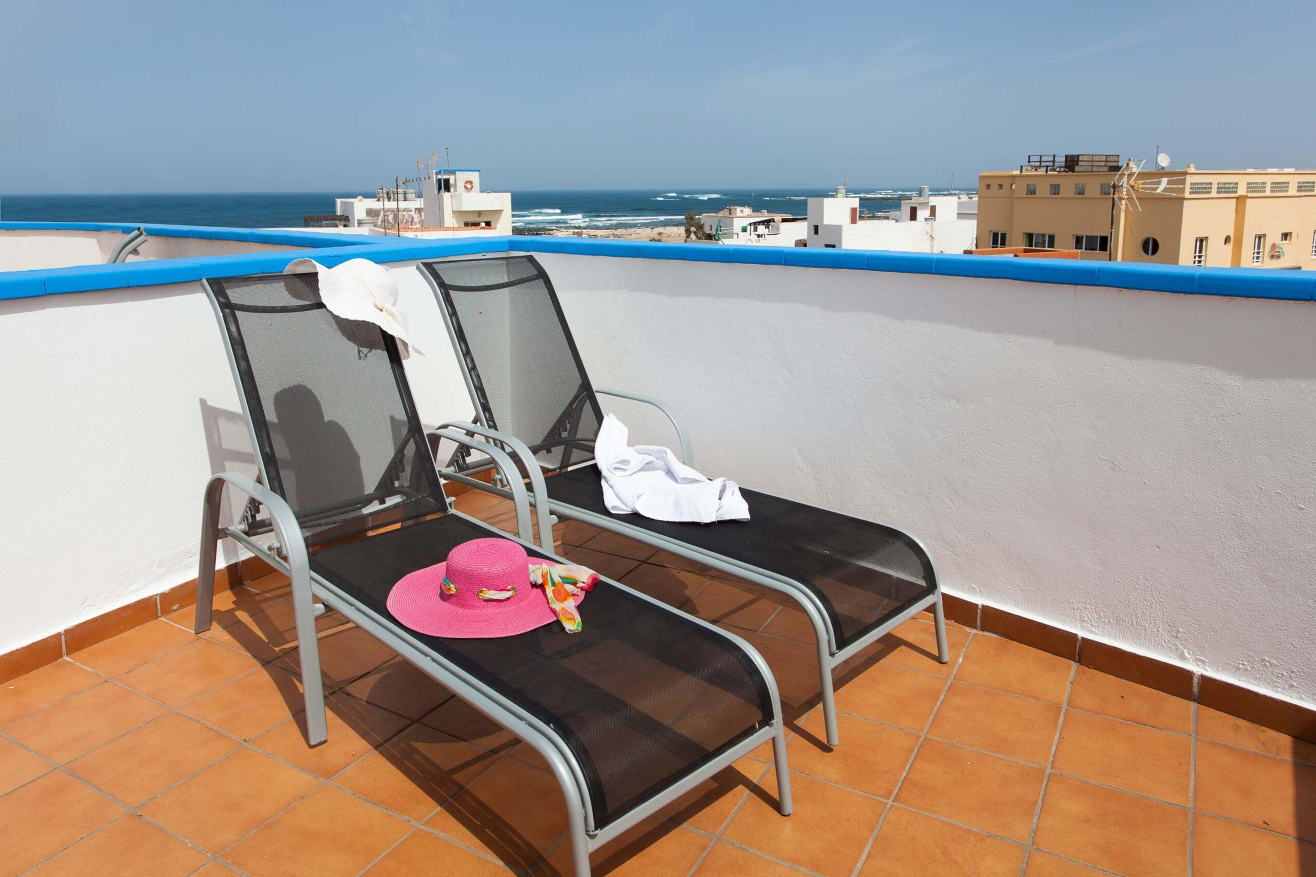 Beautiful duplex with ocean view en Cotillo